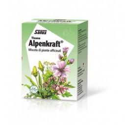ALPENKRAFT® Tisana integratore alimentare per BENESSERE VIE RESPIRATORIE / DIFESE IMMUNITARIE