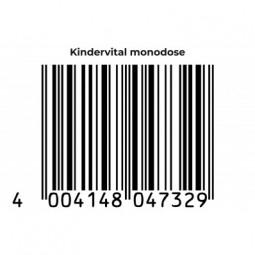 KINDERVITAL® Formula classica Monodose integratore alimentare per JUNIOR