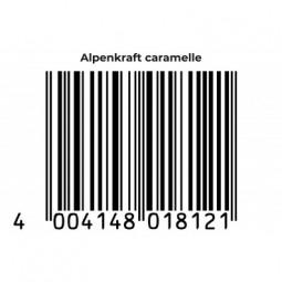 ALPENKRAFT® Caramelle EAN Code