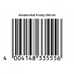 KINDERVITAL® Fruity Formula Potenziata - formato Baby integratore alimentare per JUNIOR