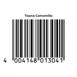 TISANA CAMOMILLA EAN Code