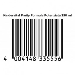 KINDERVITAL ® Fruity Formula integratore alimentare per JUNIOR